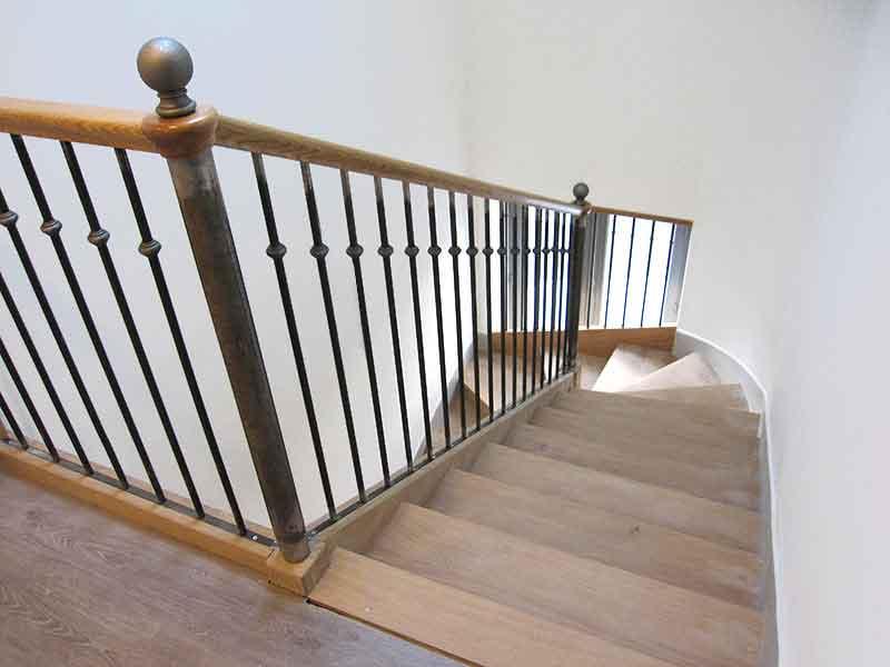Escalier sur-mesure en bois Andilly Val d'Oise 95